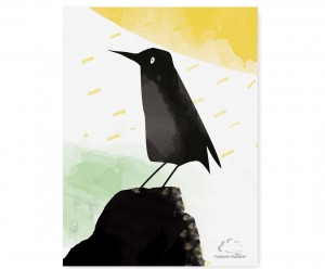 Plakat Black Bird